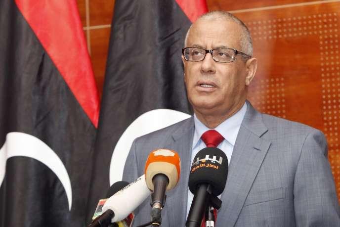Le premier ministre libyen Ali Zeidan, en février à Tripoli.