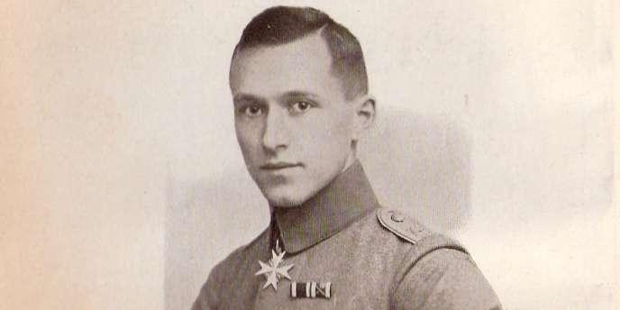 Ernst Jünger peu après la guerre.