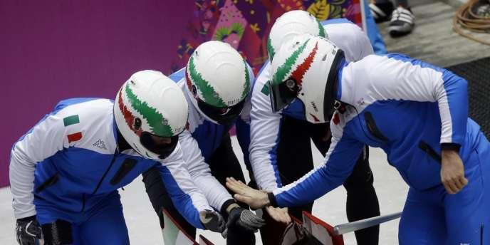 Le bobsleigh italien est touché par une affaire de dopage.