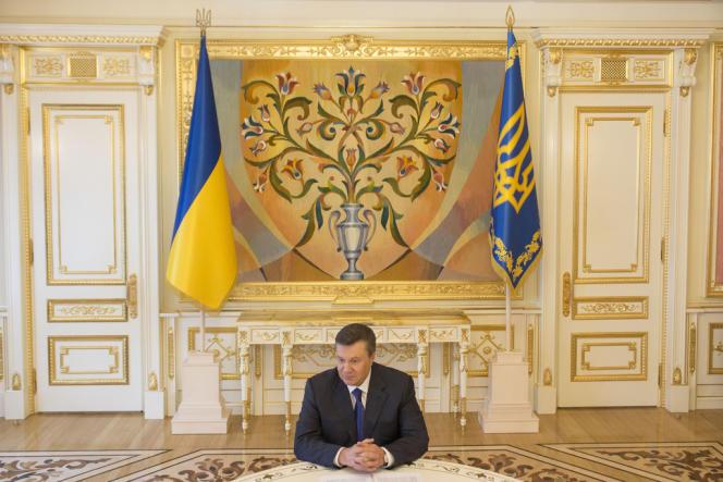 Le président ukrainien, Viktor Ianoukovitch, à Kiev, en juillet 2012.