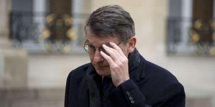 Vincent Peillon, à l'Elysée, le 29 janvier 2014.