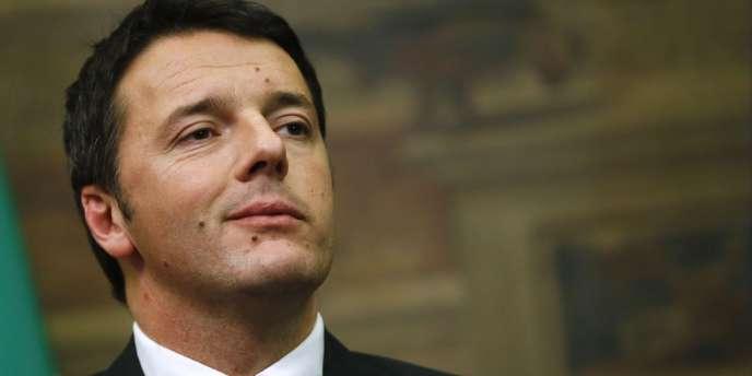 Le nouveau président du conseil italien, Matteo Renzi, le 19 février.