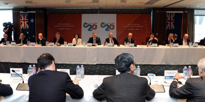 Lors du dernier sommet du G20 en février à Sydney, les ministres des finances ont déclaré vouloir porter la croissance mondiale à 5 % par an d'ici à 2018 (sommet du G20, à Sydney, le 21 février).