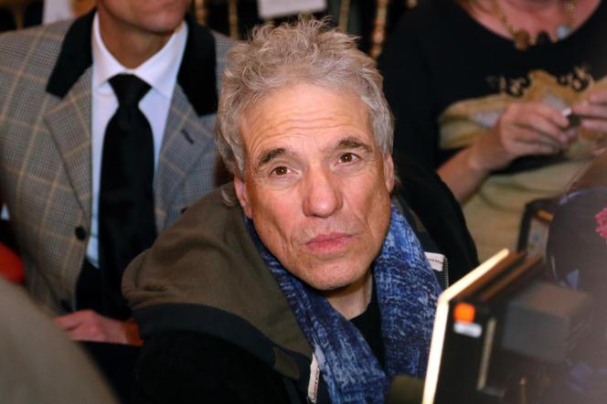 Le réalisateur américain Abel Ferrara à Paris, le 23 janvier 2013.