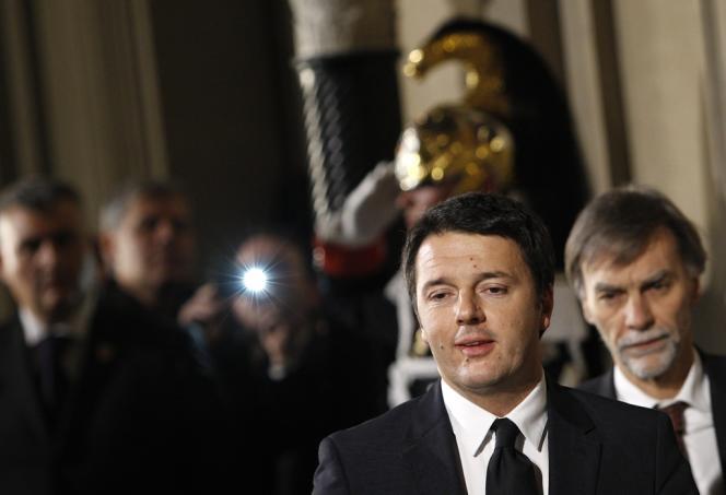Matteo Renzi, le 21 février à Rome.
