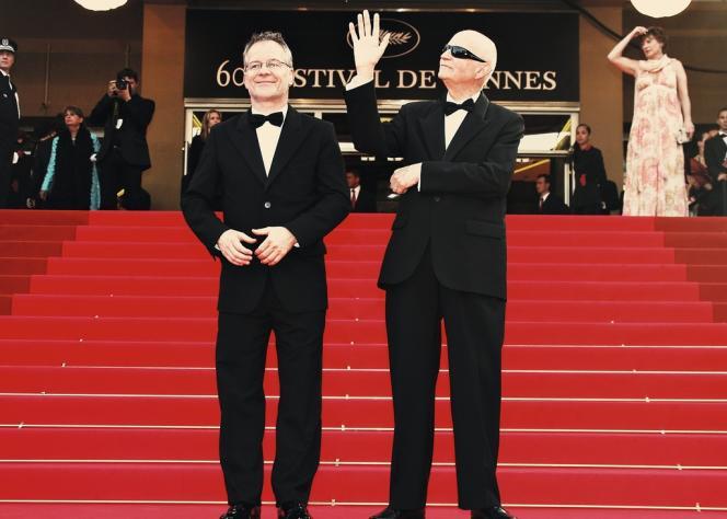 Avec Gilles Jacob, président du Festival de Cannes de 2001 à 2014.