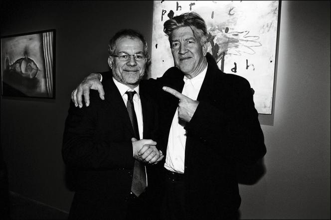 Thierry Frémaux avec son ami David Lynch.