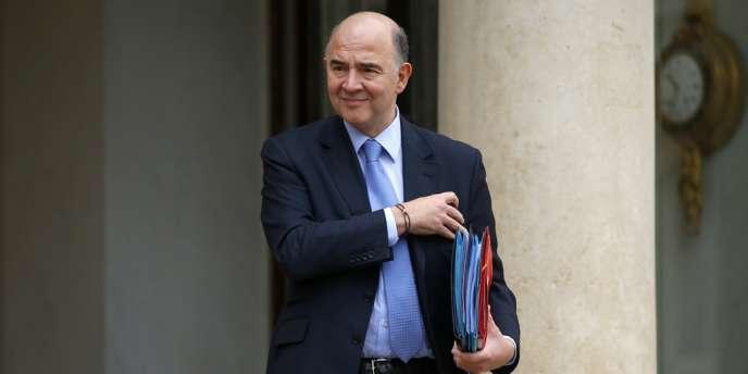 Pierre Moscovici, à l'Elysée, le 19 février.