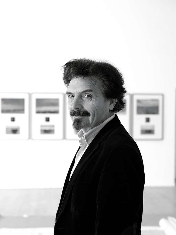 Thierry Raspail, devant