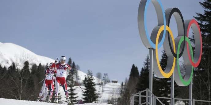 Un triplé norvégien s'est produit en ski de fond (30 kilomètres féminin), samedi 22 février, à Sotchi.