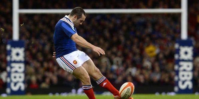 Jean-Marc Doussain n'a pas brillé vendredi au pays de Galles.