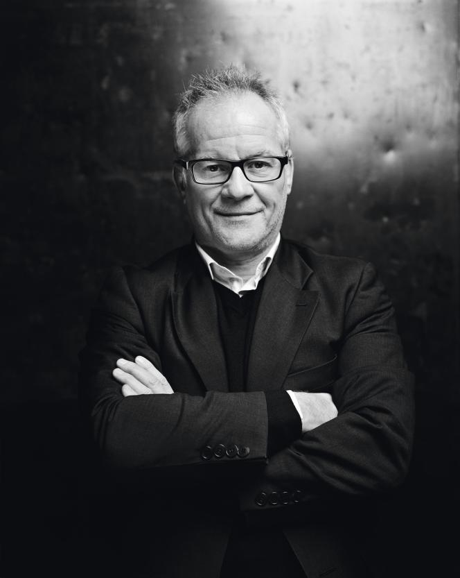Thierry Frémaux à l'Institut Lumière de lyon, le 8 février.