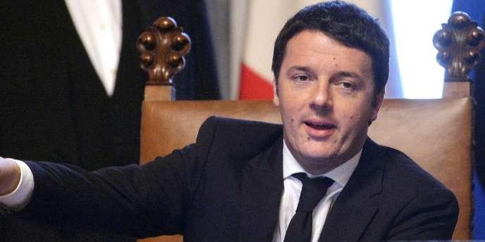 Matteo Renzi, le 22 février à Rome.