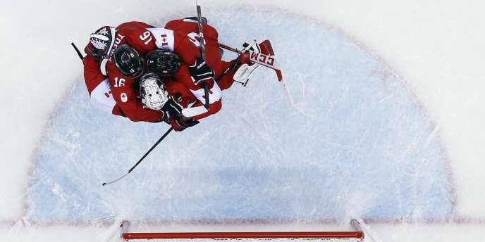 Le Canada a remporté le tournoi olympique de hockey sur glace, le 23 février, face à la Suède.