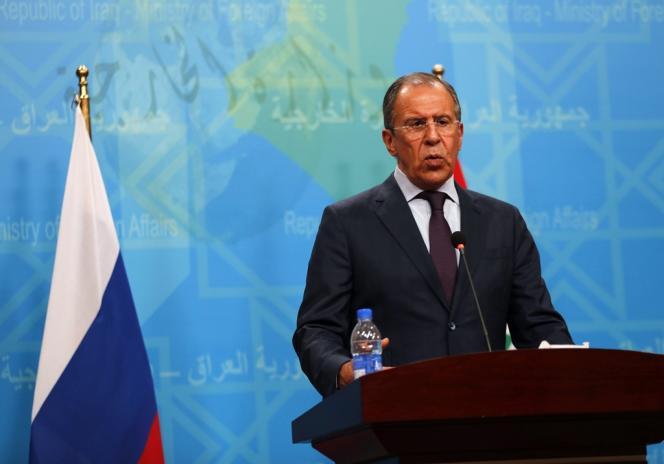 Sergueï Lavrov, le 20 février à Bagdad.