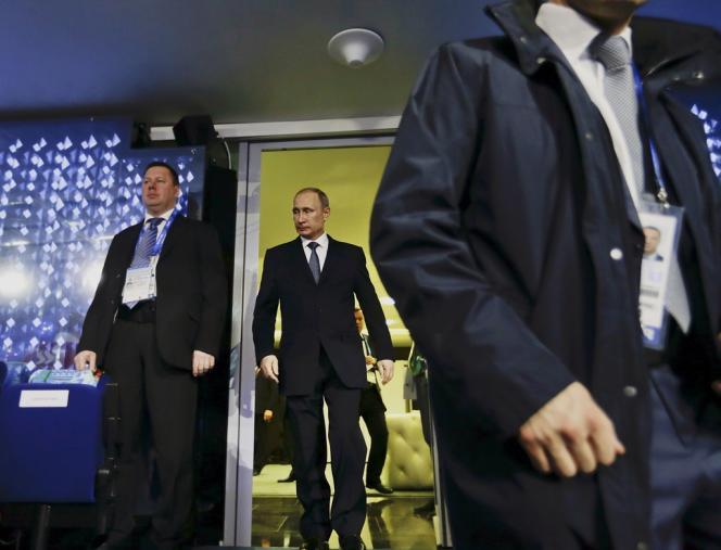 Vladimir Poutine, le 23 février à Sotchi.