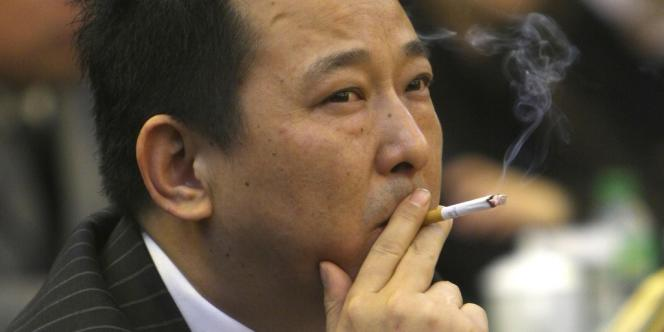 Liu Han, le 21 mars 2008, à Mianyang dans le Sichuan.