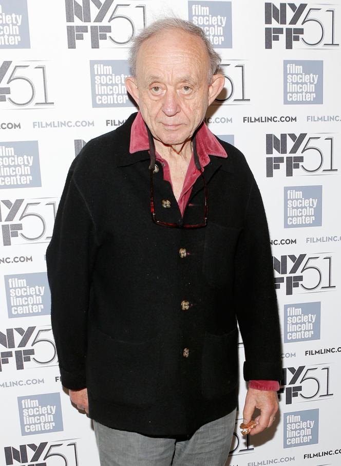 Le réalisateur Frederick Wiseman lors du 51e Festival du film de New York, le 30 septembre 2013.