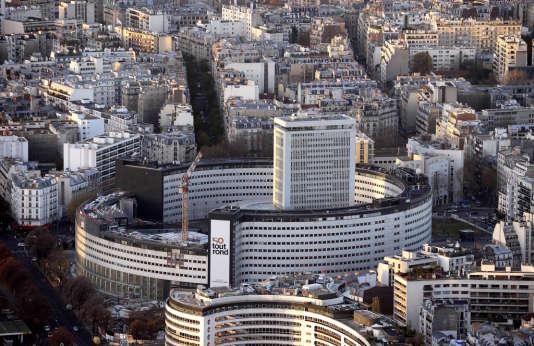 La Maison de la Radio, à Paris, en décembre 2013.