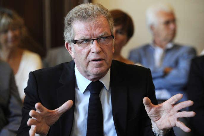 Jean-Pierre Moure, le candidat du PS à la mairie de Montpellier, en septembre 2013.