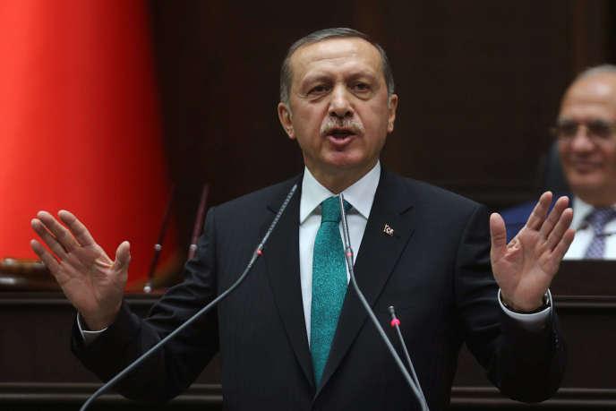Recep Tayyip Erdogan, en janvier.