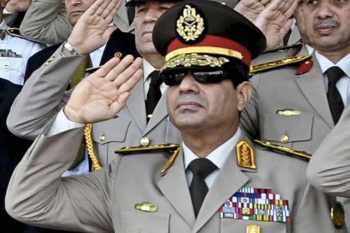 Abdel Fattah Al-Sissi, le 22 février 2013 au Caire.