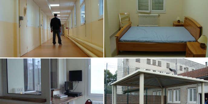Au centre socio-médico-judiciaire de sûreté (CSMJS) de Fresnes, dans le Val-de-Marne.