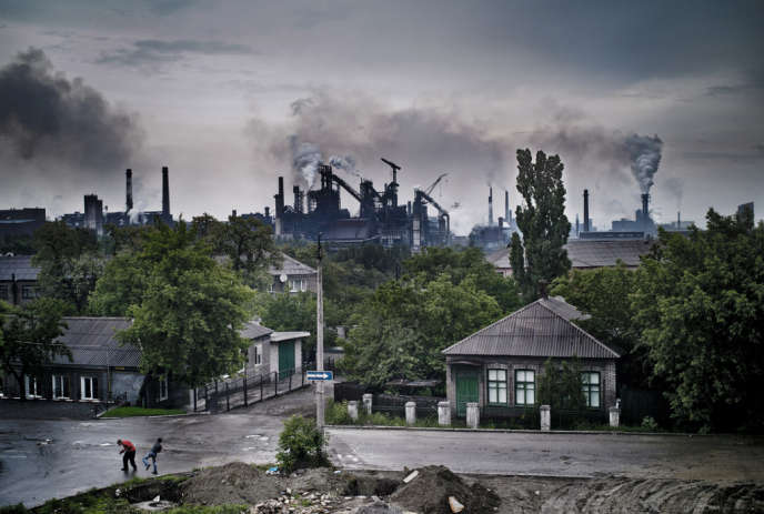 A Ienakiieve, en Ukraine.