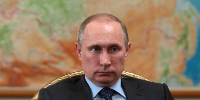 Vladimir Poutine le 26 février 2014.