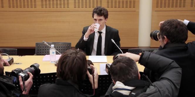Le juge Marc Trévidic à l'Assemblée nationale, le 14 février.