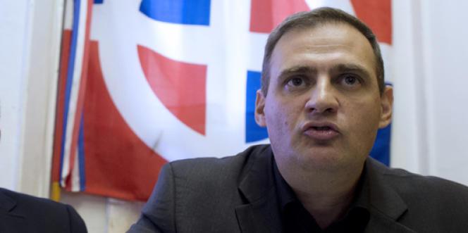 Yvan Benedetti en octobre 2013.