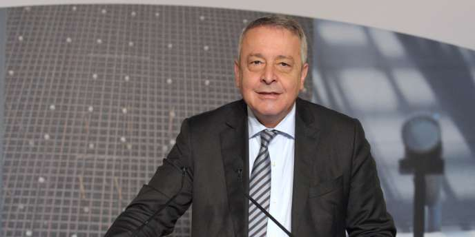 Antoine Frérot, PDG de Veolia, à Paris, en le 27 février.