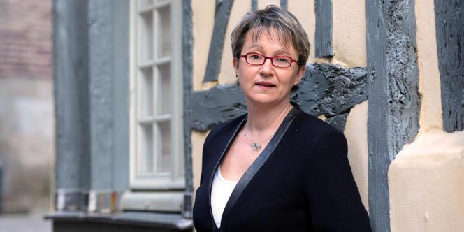 La députée Nathalie Appéré, candidate PS aux municipales à Rennes (Ille-et-Vilaine).
