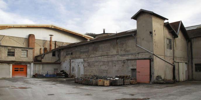 Un des bâtiments de l'usine drômoise Ceralep, en février 2014.