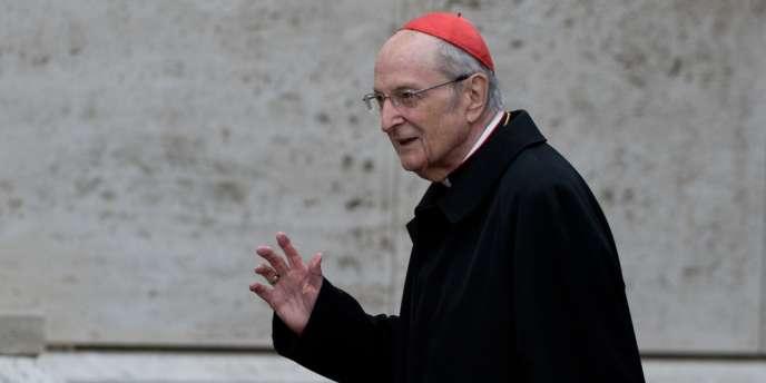 Le cardinal Joachim Meisner, en mars 2013.