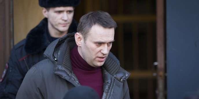 Alexeï Navalny a été condamné à 7 jours de détention pour