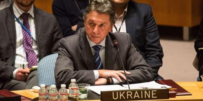 L'ambassadeur ukrainien aux Nations unies, Yuri Sergueïev, a demandé au Conseil de sécurité « de faire tout ce qui est en son pouvoir pour arrêter l'agression de la Fédération russe ».