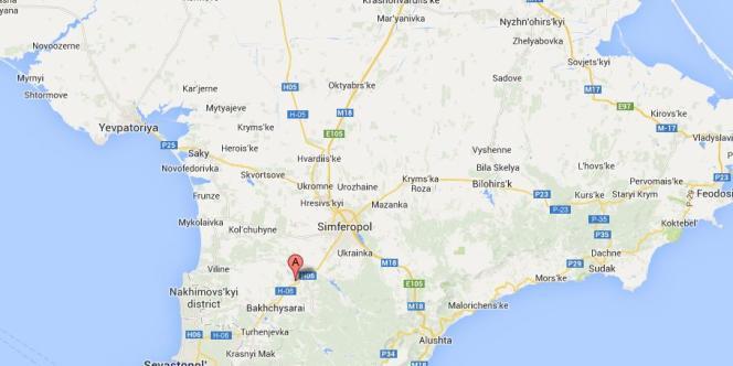 Leu village de Sevastianovka, non loin de Simferopol.