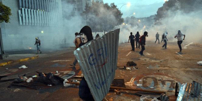 Manifestation anti-gouvernementale à Caracas, le 28 février.
