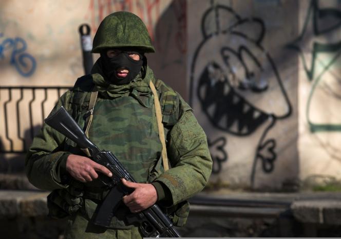 Près de Simferopol, le 3 mars.
