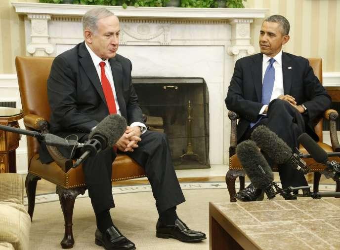 Barack Obama et Benyamin Nétanyahu à la Maison Blanche, le 3 mars.