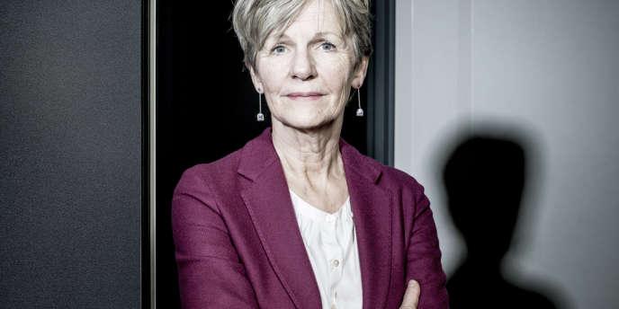 Eliane Houlette, le nouveau procureur financier, à Paris, le 28 février 2014.