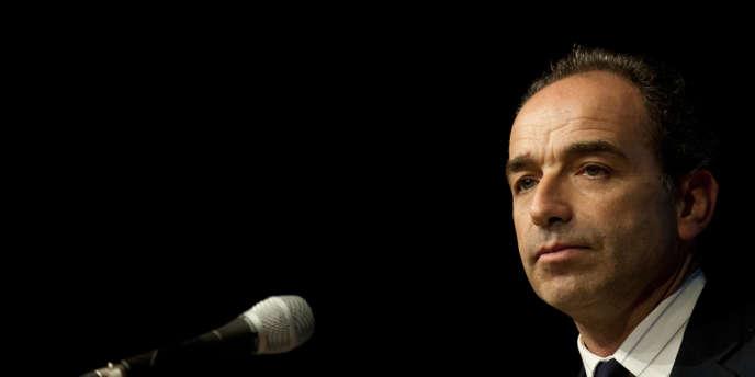 Jean-François Copé lors d'un meeting à Nantes, le 26 février 2014.