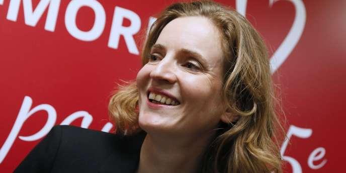 Nathalie Kosciusko-Morizet, candidate UMP à la Mairie de Paris, le 12 février.