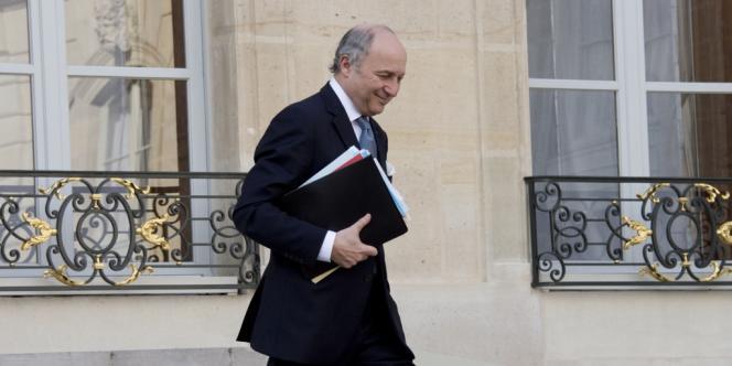 Laurent Fabius, ministre des affaires étrangères, le 26 février, à Paris.