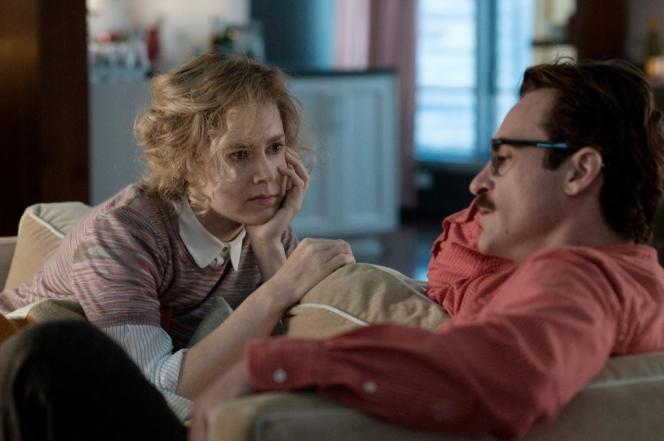 Amy Adams et Joaquin Phoenix dans le film américain de Spike Jonze,