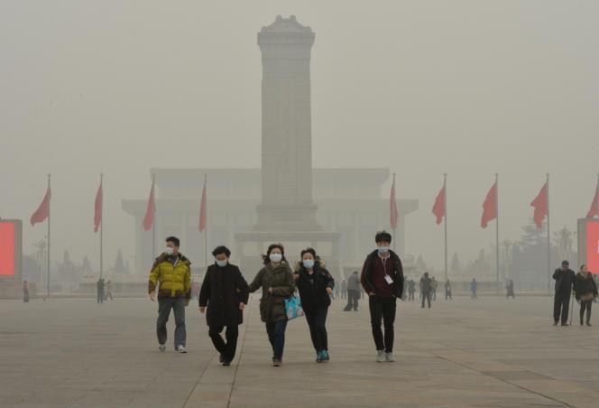 A Pékin, le 26 février.
