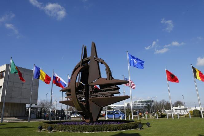 Au siège de l'OTAN, à Bruxelles, le 2 mars.