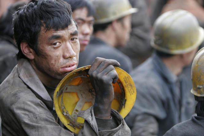Mineurs du Henan, dans le centre de la Chine.