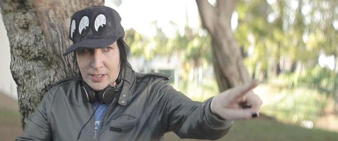 Marilyn Manson dans le film français et américain de Quentin Dupieux,